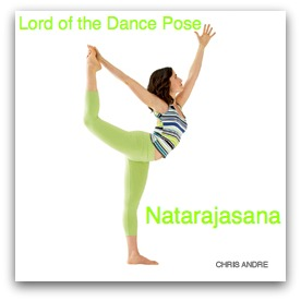 lord of the dance , natarajasana